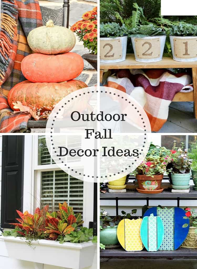 Outdoor Fall Decor Ideas at IMM
