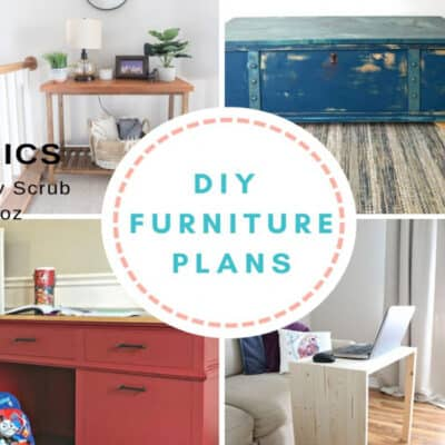 DIY Furniture Plans at IMM