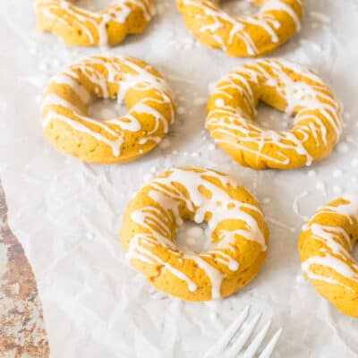 Fall Pumpkin Spice Donuts