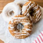 Easy Cake Mix Gingerbread Donuts