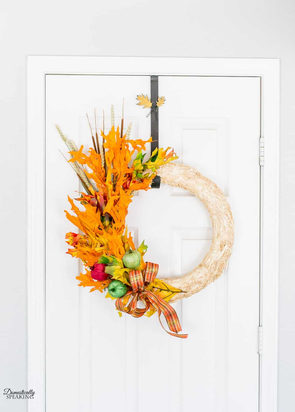 Fall Apple Leaf Wreath Tutorial