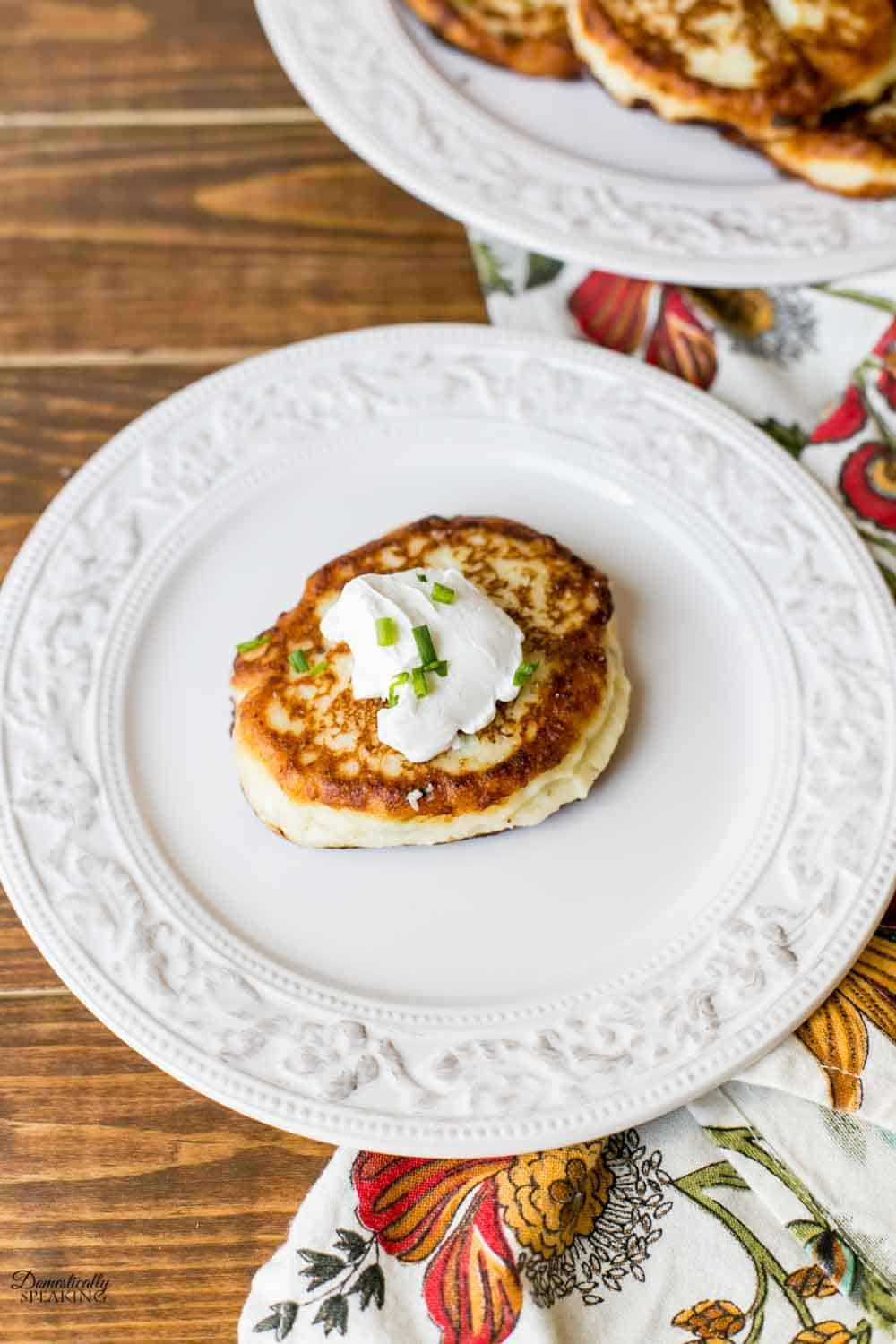 Potato Cakes with leftover mashed potatoes
