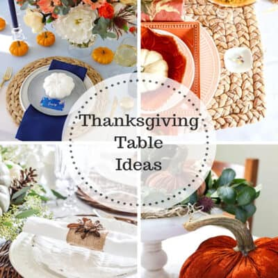 Thanksgiving Table Ideas at IMM