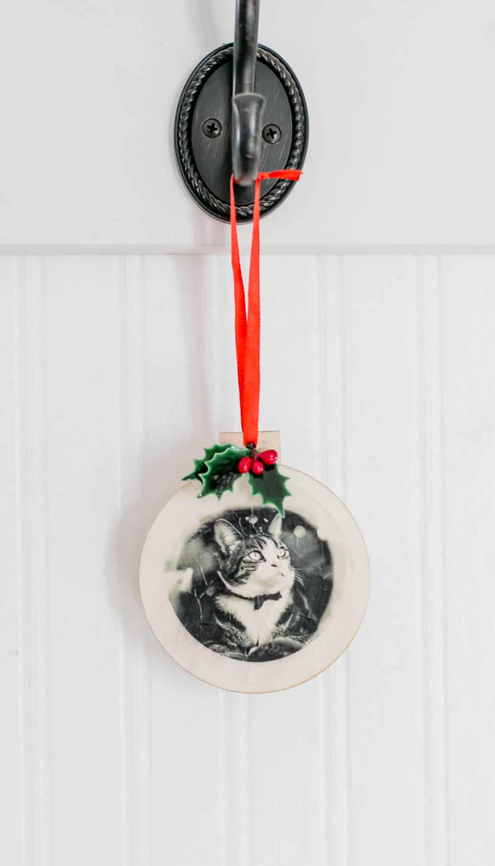 Tissue Paper Printed Christmas Ornaments