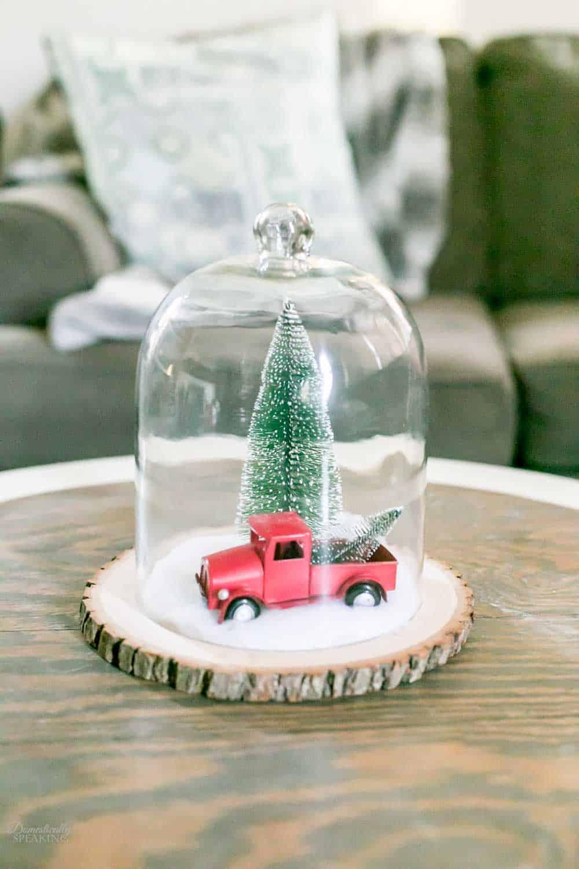 Vintage Christmas Cloche