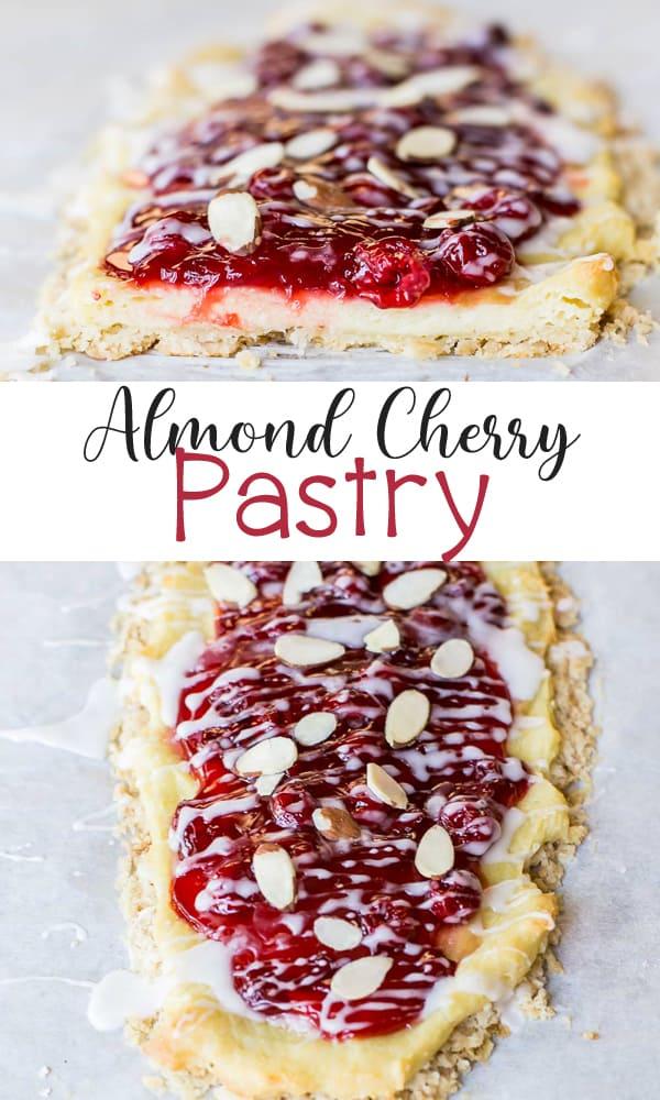 Almond Cherry Pastry Recipe