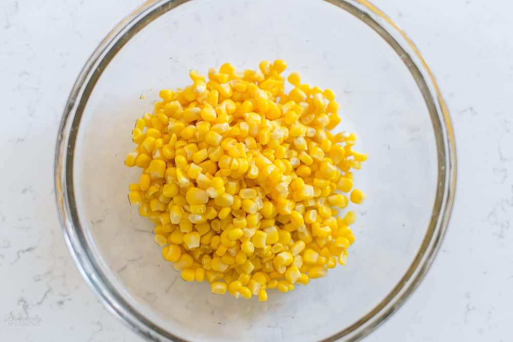Fresh can of corn