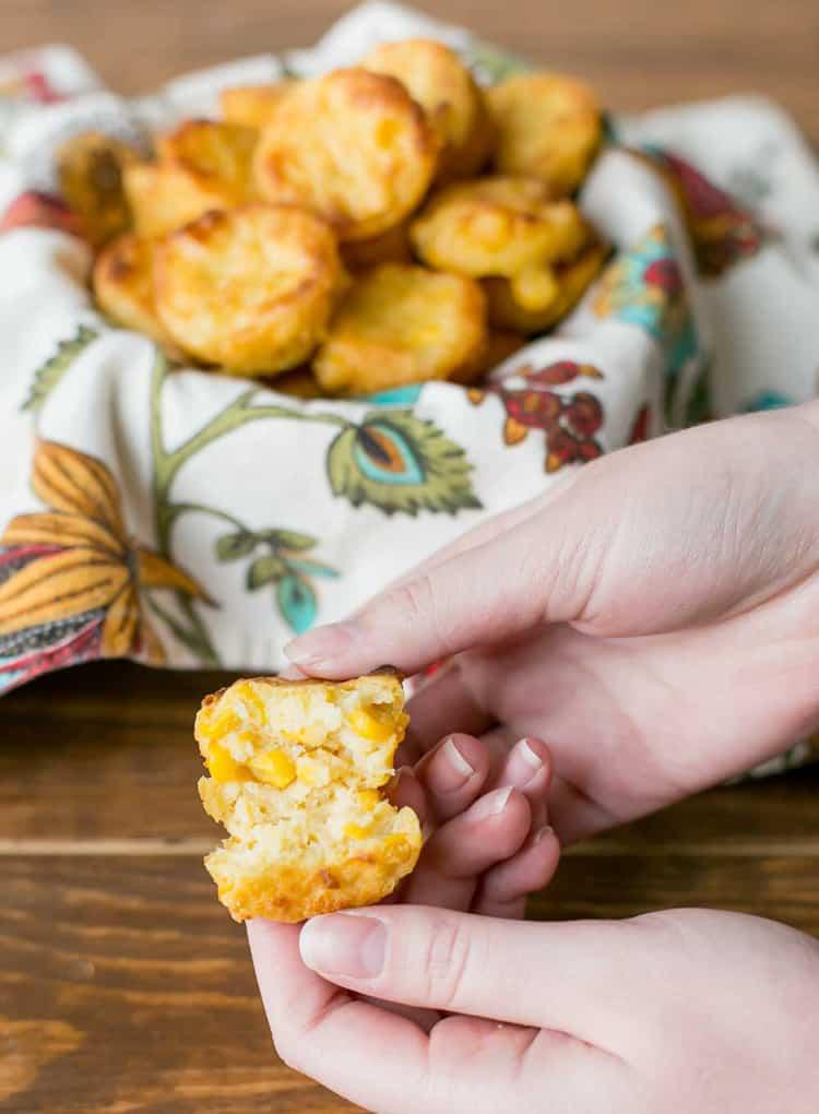 Corn Casserole Bites