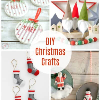 DIY Christmas Crafts at Inspire Me Monday