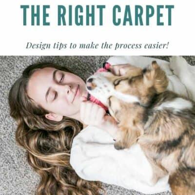 Picking out Carpet