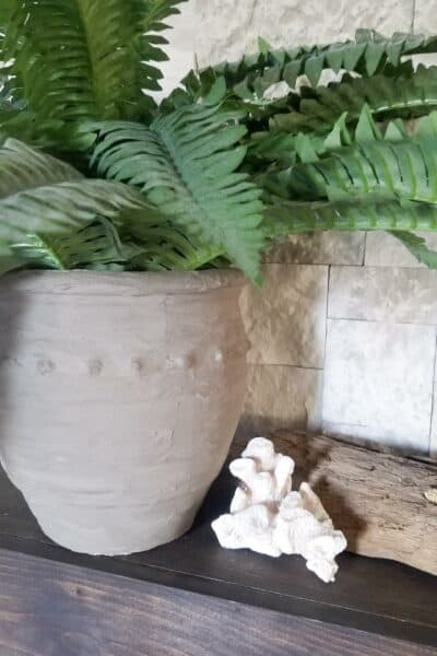 DIY Cement Pot