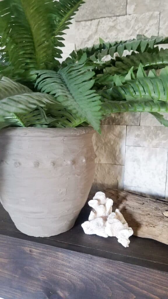 DIY Cement Pot