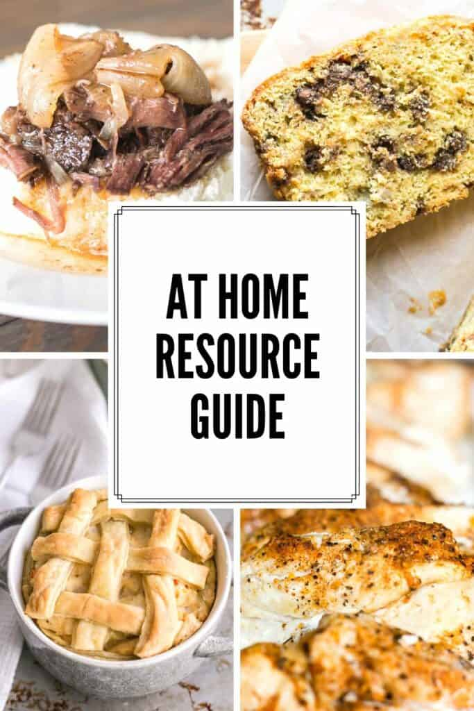 At Home Resource Guide