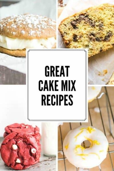Great Cake Mix Recipes