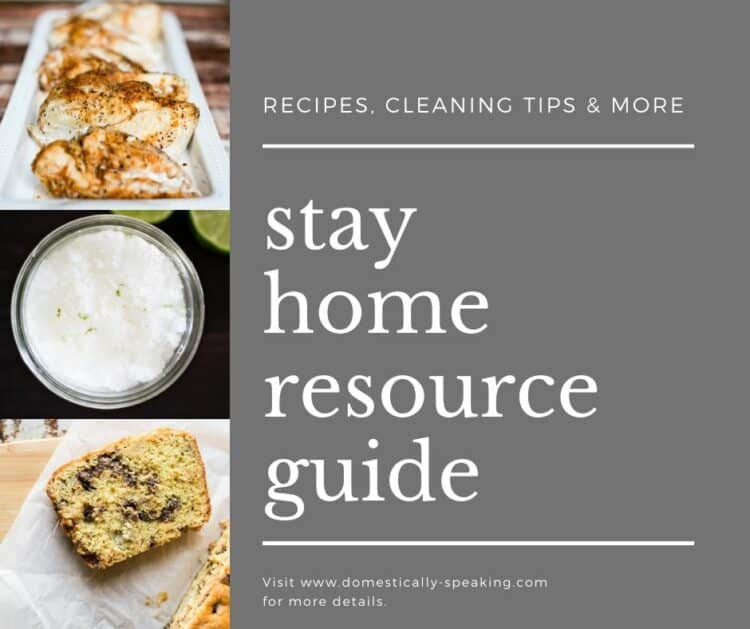 Stay Home Resource Guide