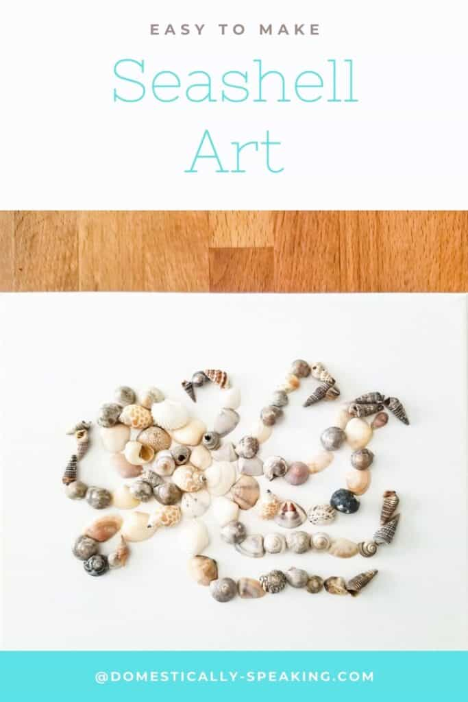 Easy to make this seashell art is so fun! Make Octopus Shell Art or anything you'd like.