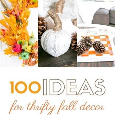 100+ Thrifty Fall Decor Ideas