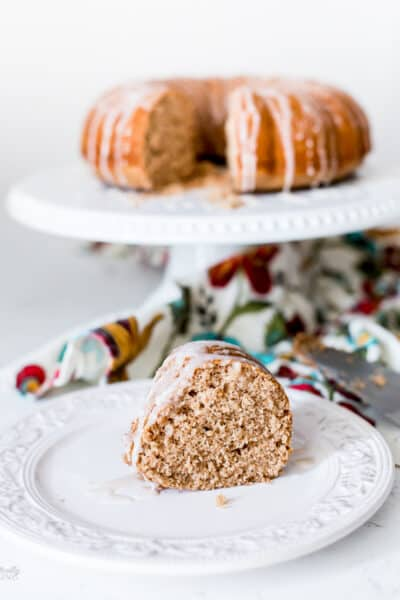 Easy Applesauce Spice Cake