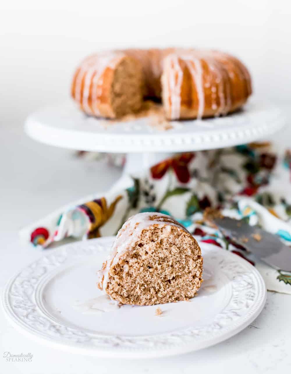 Easy Applesauce Spice Cake