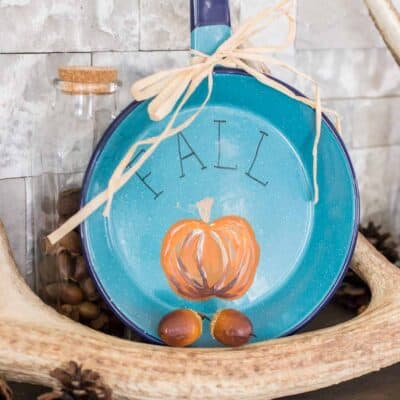 Fall Frying Pan Sign