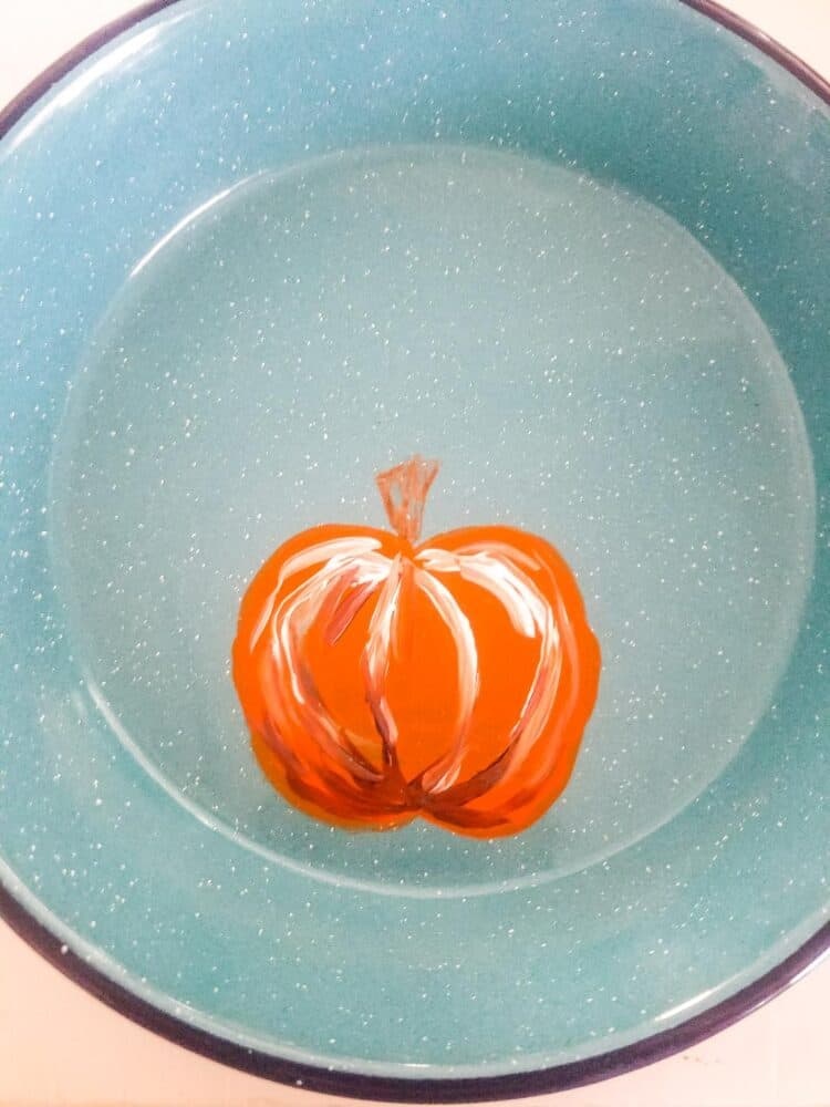 How to Paint a Pumpkin