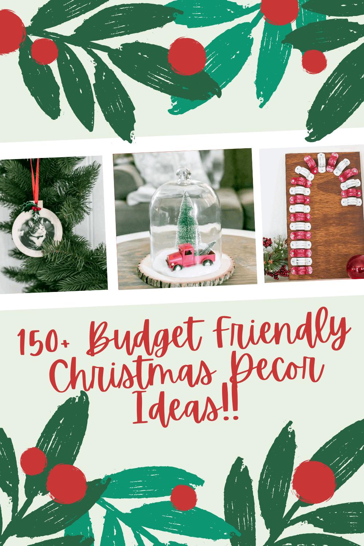 Budget Friendly Christmas Decor