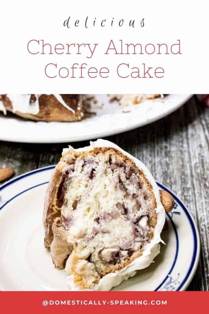 Delicious Cherry Almond Coffee Cake