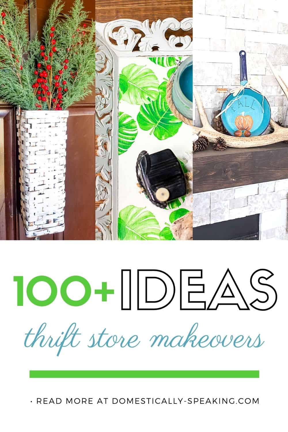 100+ Top Thrift Store Makeovers