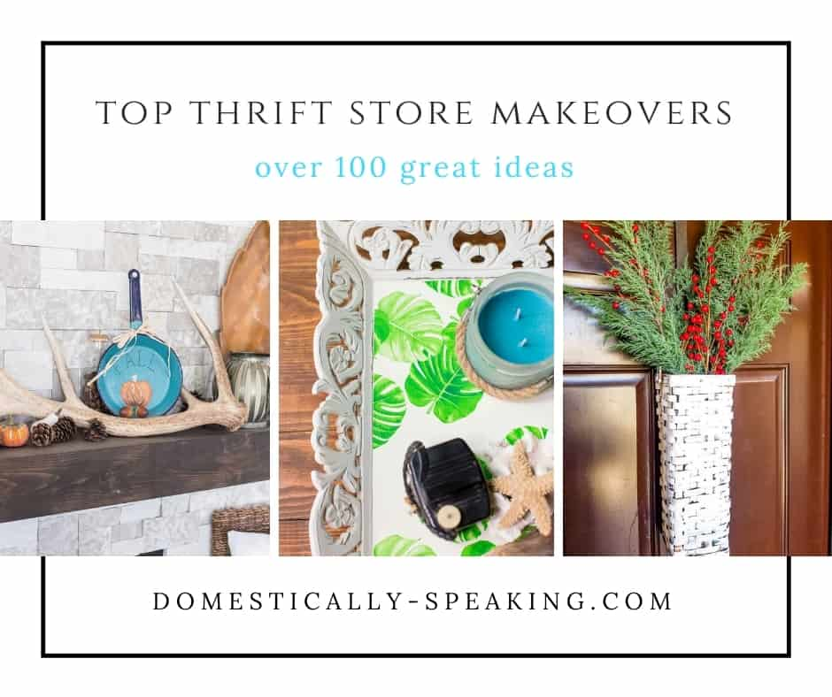 top thrift store makeovers