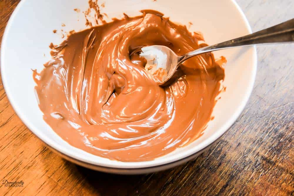 Melting Chocolate in a Bowl