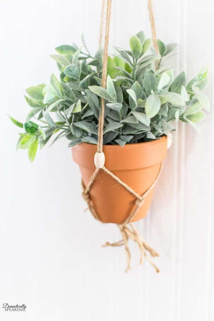small macrame plant hanger