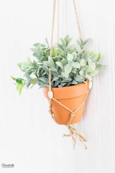 DIY Macrame Plant Hanger