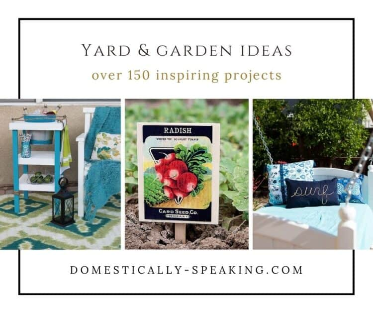 Yard and Garden Projects Ideas