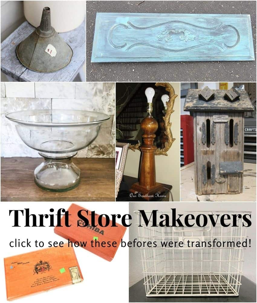 April Thrift Store Makeovers