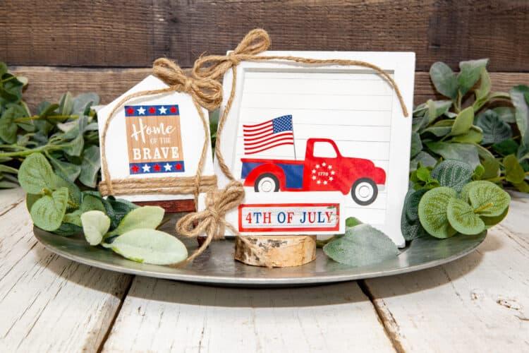 4th of July craft decor