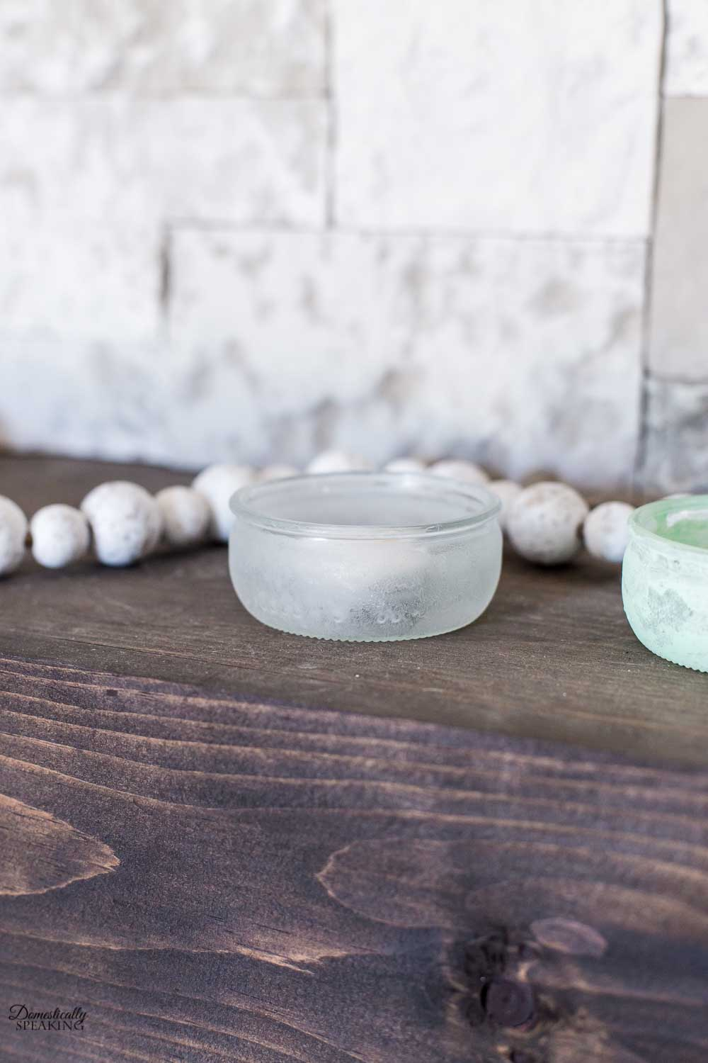 Frosted Glass Tealights