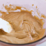 Combining the Sweetened Condensed Milk and Peanut Butter