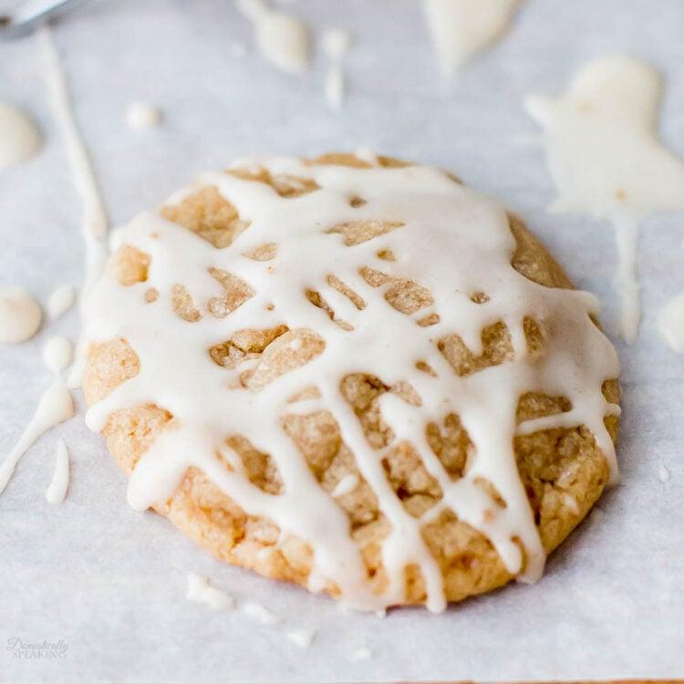 Chewy Chai Sugar Cookies