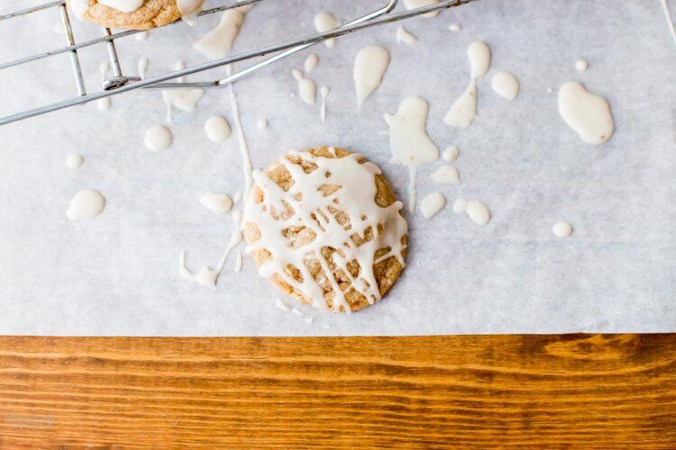 Iced Chai Sugar Cookie