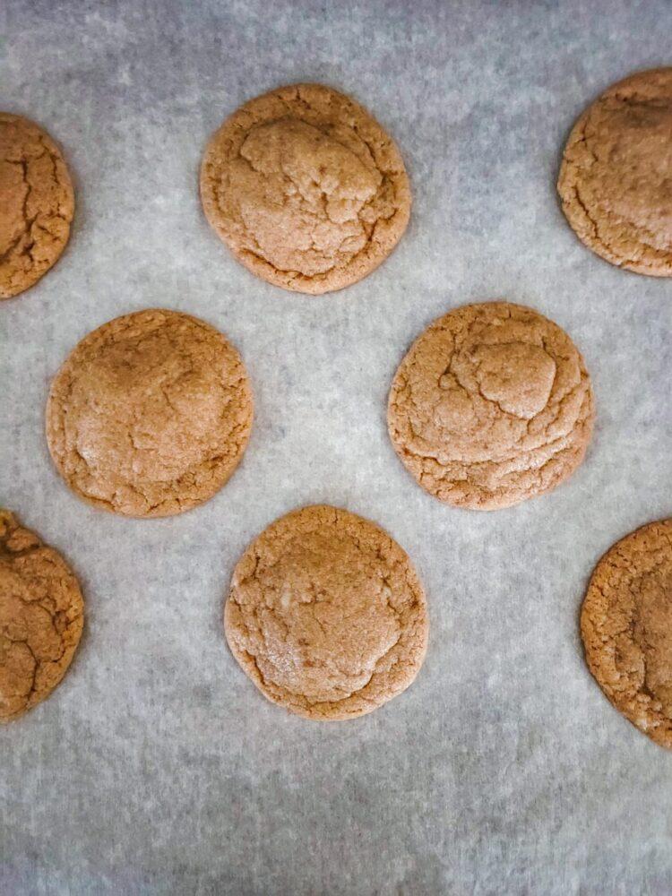 Baked Chai Sugar Cookies