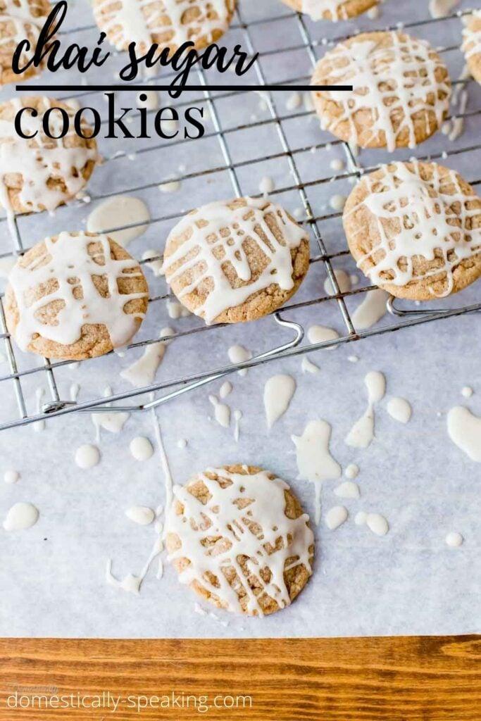 Chai Sugar Cookies