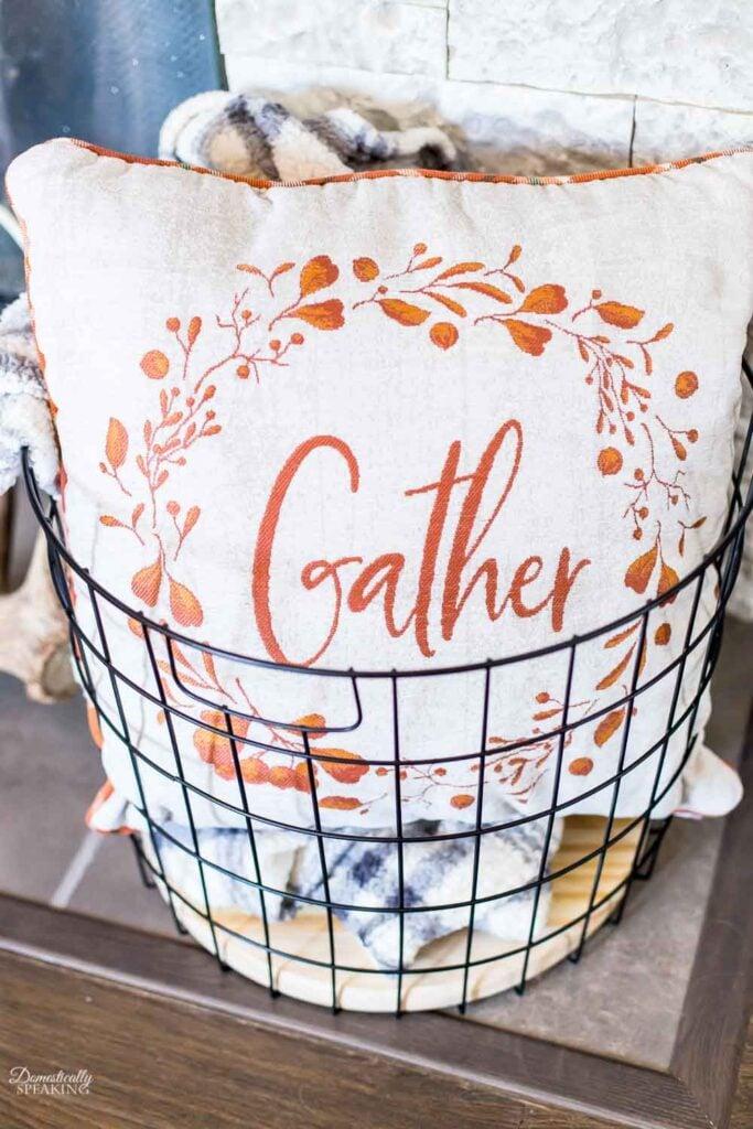 Gather Fall Pillow