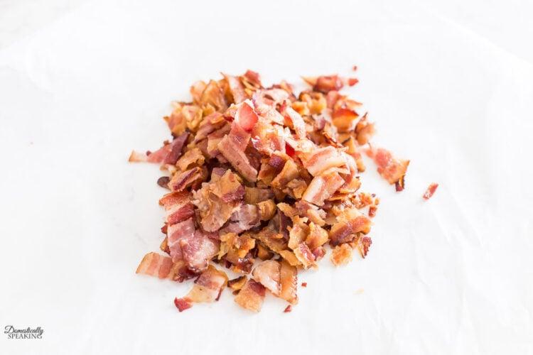 Chopped up Crisp Bacon