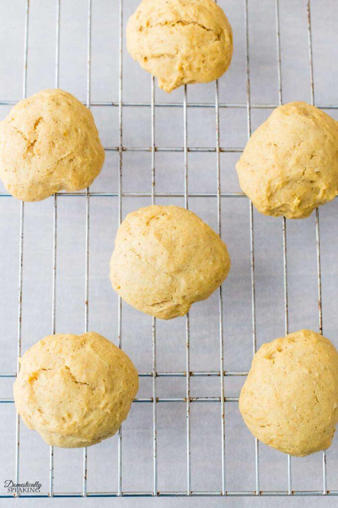 Baked Pumpkin Cream Cheese Cookies