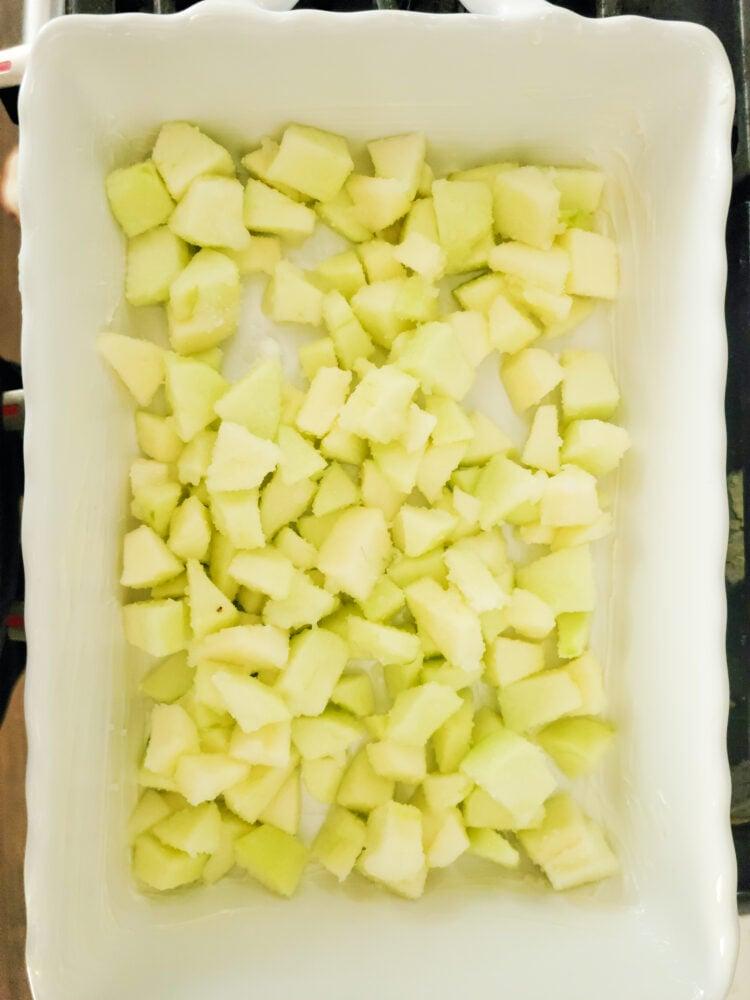 Coated Apples for the Crisp